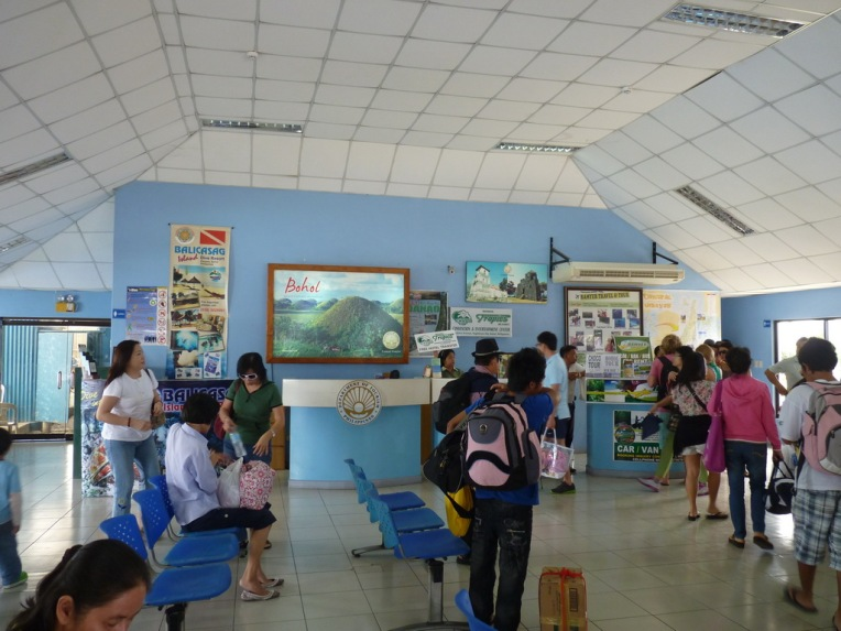 Many tour companies available. If you do not like it, there are many touts outside the terminal